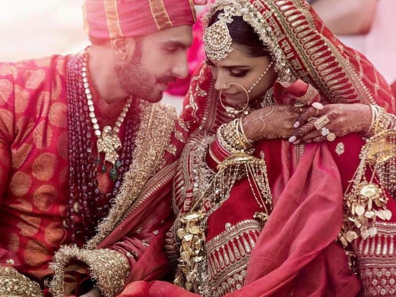 The wedding of Deepika & Ranveer: Greetings Galore