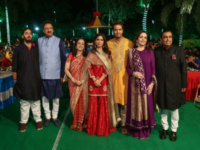 Here's everything you need to know about Isha Ambani's Sangeet Ceremony.