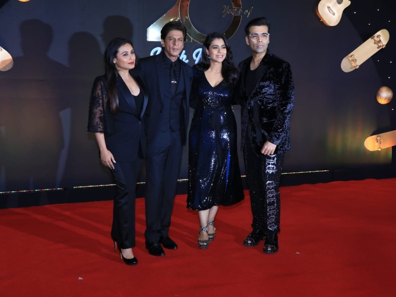 20 years of Kuch Kuch Hota Hai celebration bash: Shah Rukh Khan, Kajol and Rani Mukerji recreate the magic