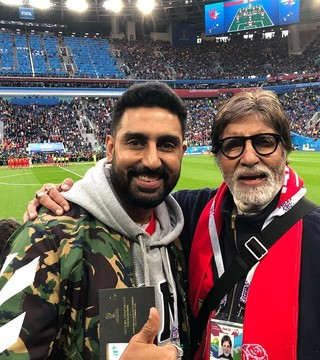 Bollywood roots for their favorites at FIFA World Cup 2018