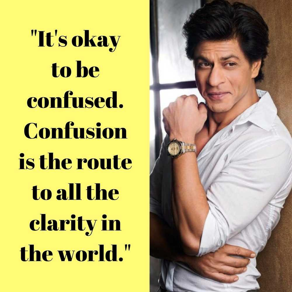 Shah Rukh Khan And His Famous Quotes Iifa