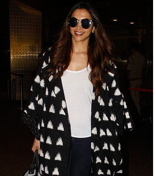 5 times Deepika Padukone rocked the monochrome look at the airport