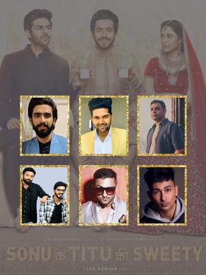 Amaal Mallik, Guru Randhawa, Rochak Kohli, Saurabh-Vaibhav, Yo Yo Honey Singh, Zack Knight